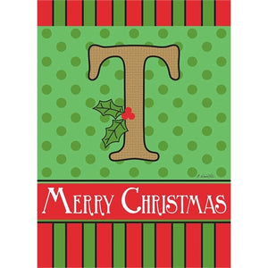 "Holiday Monogram ""T"""