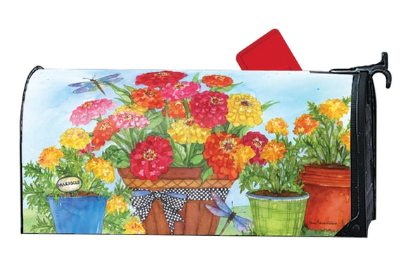 Marigolds and Zinnias MailWrap®
