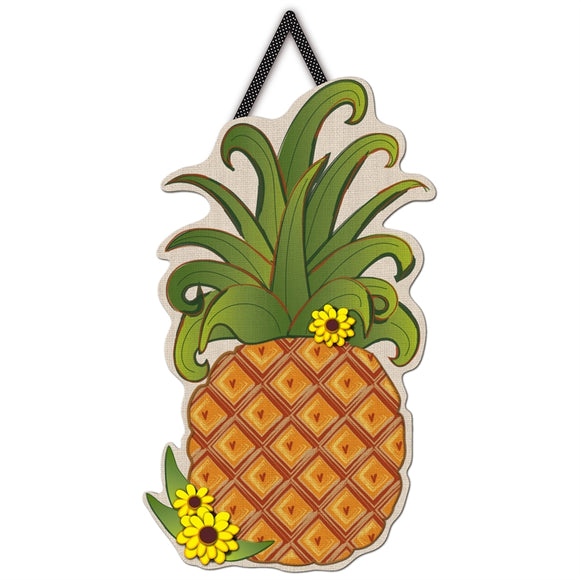 Pineapple Letter Perfect Door Decor