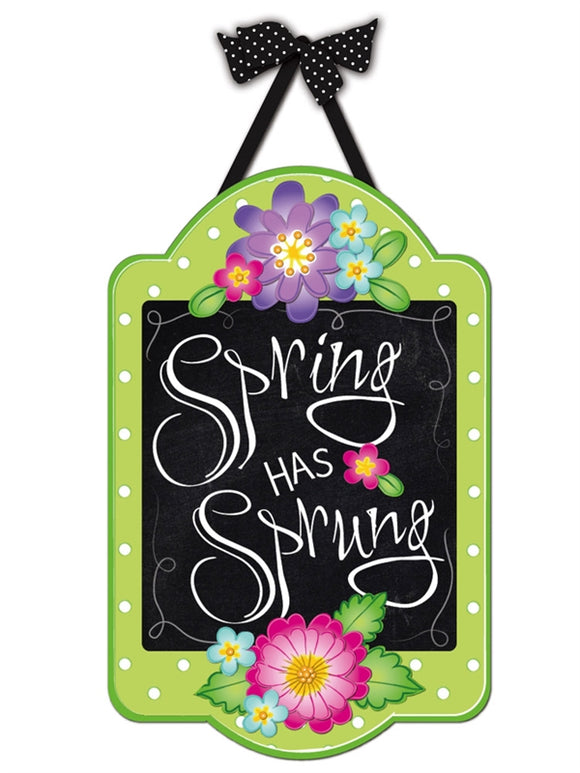 Spring Has Sprung Felt Door Decor