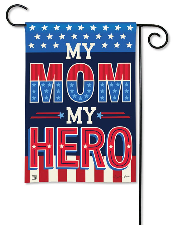 My Mom My Hero Flag