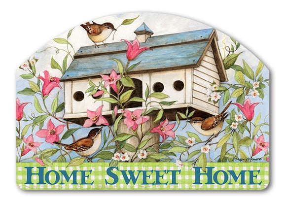 Spring Birdhouse with Clematis Yard DeSign®