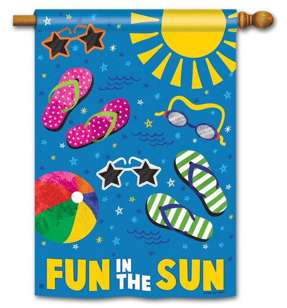 Summertime Fun Flag