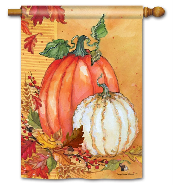 Traditional Pumpkin Flag