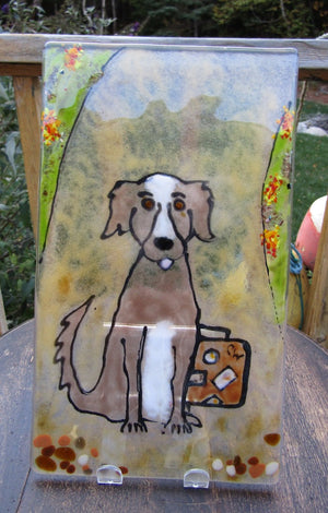 Dog Panel  by The Glass Bakery
