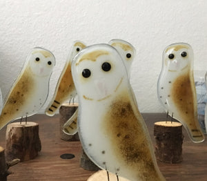 Barn Owls by The Glass Bakery