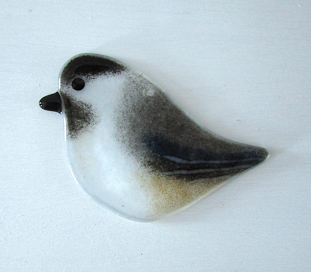 Hanging Chickadee by The Glass Bakery Ltd