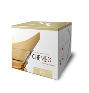 Chemex Unbleached Coffee Filters | 100 Count