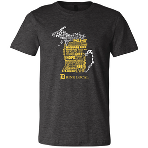 Michigan Craft Beer T Shirt