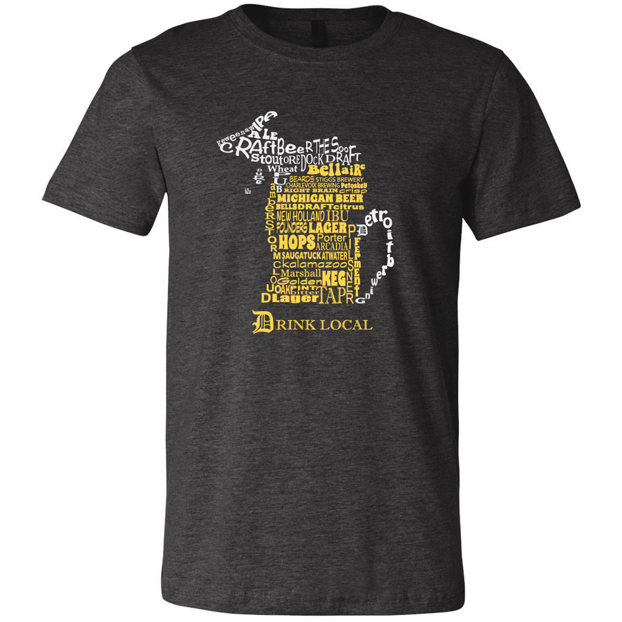 Michigan Beer Mug T Shirt
