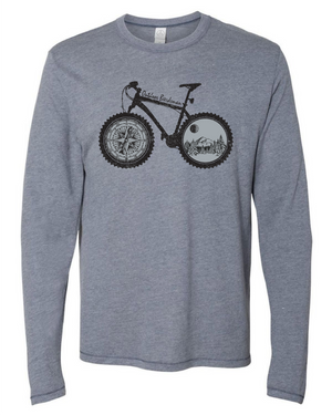 Winter Bike Trail Long Sleeve
