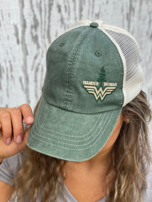 Wander Woman Trucker Hat