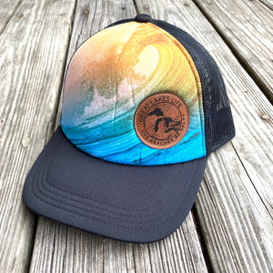Beaches be Salty Trucker Hat