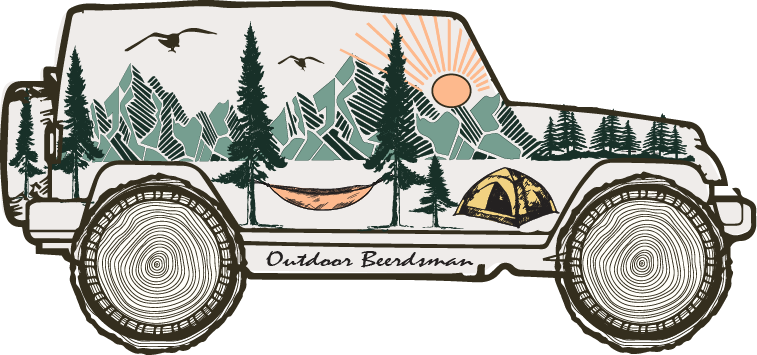 Jeep Decal - Outdoor Beerdsman