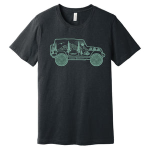 Outdoor Adventure Jeep T Shirt