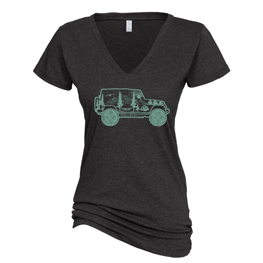 Jeep Adventure V Neck