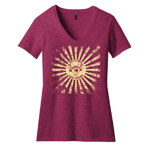 Little Miss Liquid Sunshine V neck