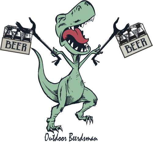 T- Rex Craft Beer Decal