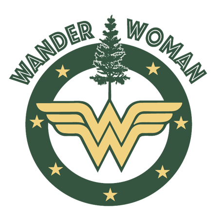 Mini Wander Woman Decal - Outdoor Beerdsman
