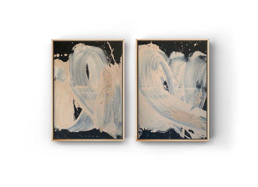 EARTHEN DIPTYCH | QUARANTINE FINALE COLLECTION