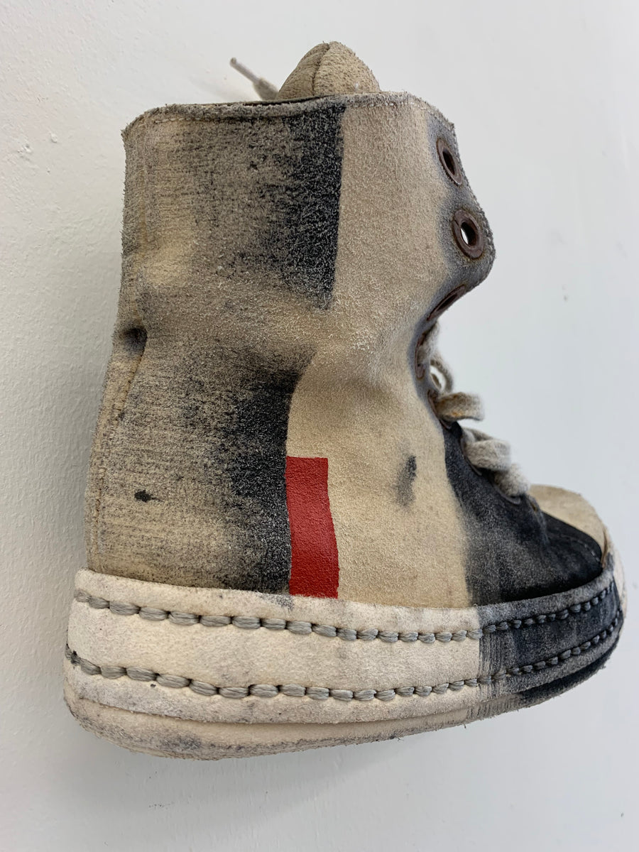 James Kearns Hand Painted Trainers - 8 Hole