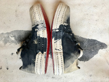 James Kearns Hand Painted Trainers - 5 Hole
