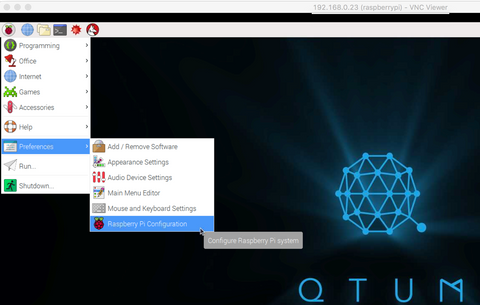 How to remotely access your QTUM StakeBox