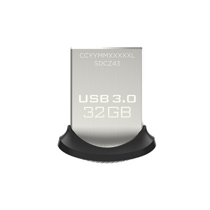 SanDisk Ultra Fit USB 3.0 Flash Drive - 32GB