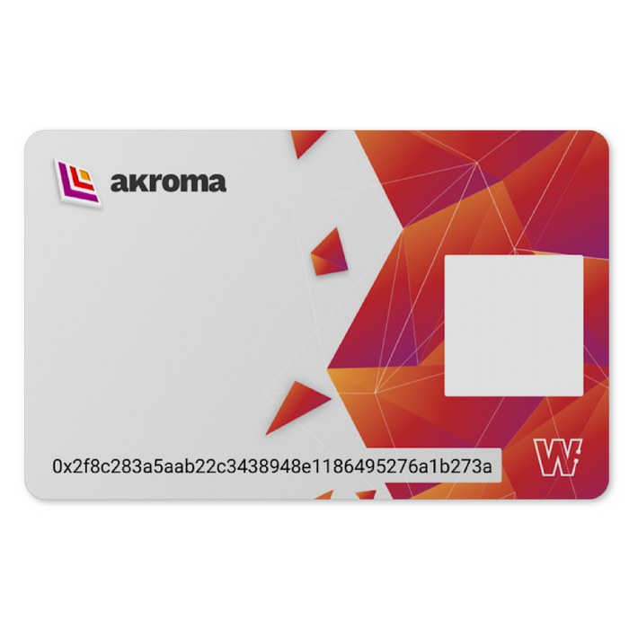 Akroma Cold Storage Card (Catalyst)