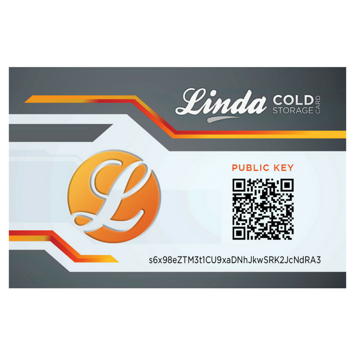 Linda Cold Storage Card (Executive Edition)