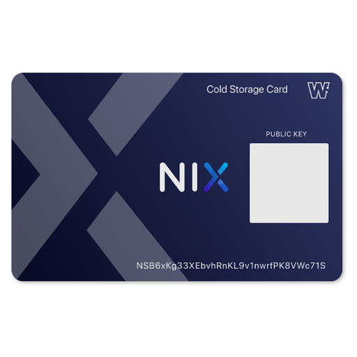NIX Cold Storage Card (Eidolon)
