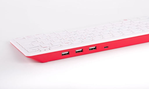 Official Raspberry Pi Keyboard (Red/White)