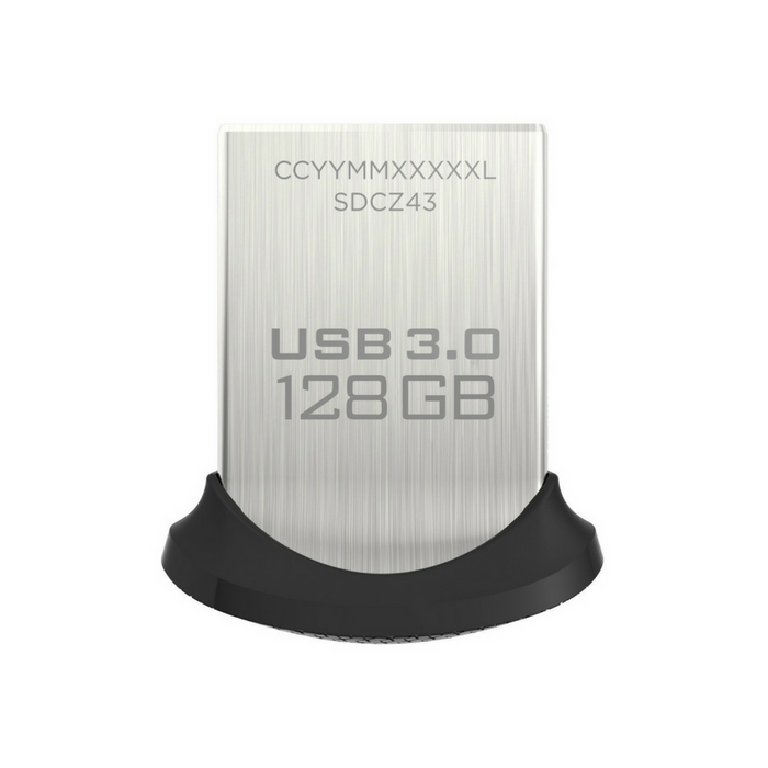 Sandisk Ultra Fit USB 3.0 Flash Drive - 128GB