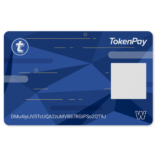 TokenPay Cold Storage Card (Accretion)