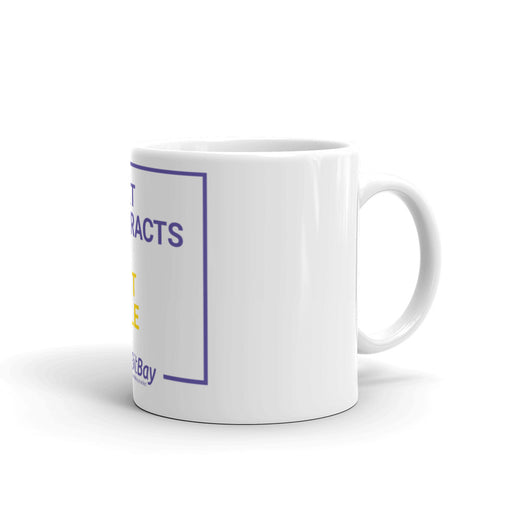 Smart Contracts For Smart People - BitBay Mug