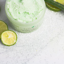 Refreshing Margarita Body Scrub with Lime and Agave