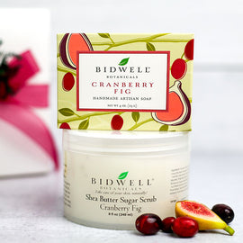 Cranberry Fig Boxed Bath Gift Set