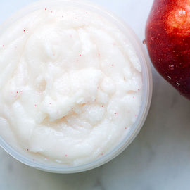 Apple Cider Sugar Scrub with Shea Butter