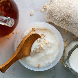 Oatmeal, Milk & Honey Scrub