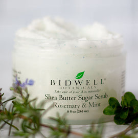 Rosemary Mint sugar scrub