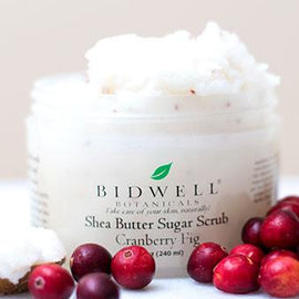 Cranberry Fig Shea Butter Sugar Scrub