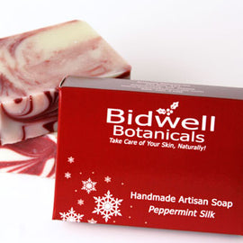 Peppermint Silk Artisan Soap