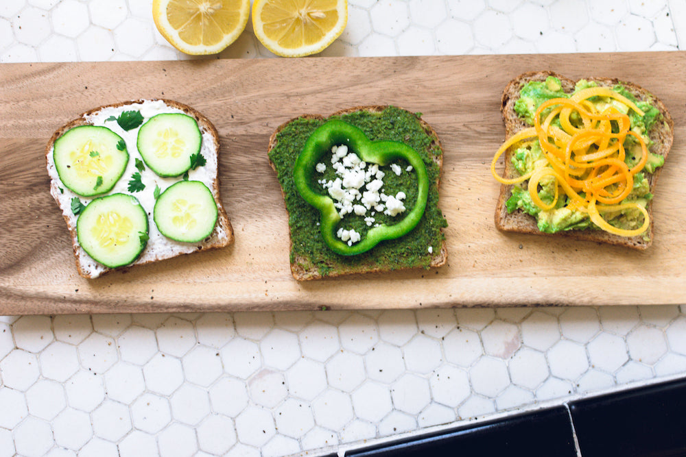 Tasty Toast! Healthy On-The-Go Snacks