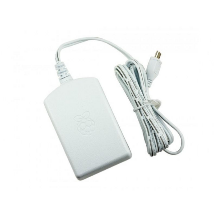 Official Raspberry Pi Power Supply White - 2.5A International Power Supply Unit