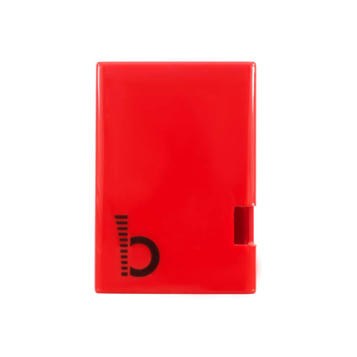 JustBoom DAC HAT Case in Red