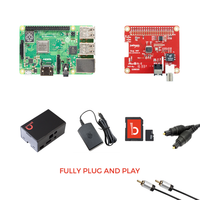 JustBoom Digi HAT Kit for Raspberry Pi