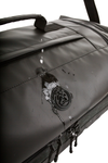 retreat duffel pack detail weather proof materials