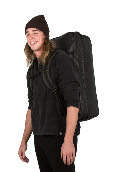 retreat duffel pack front man backpack style carry