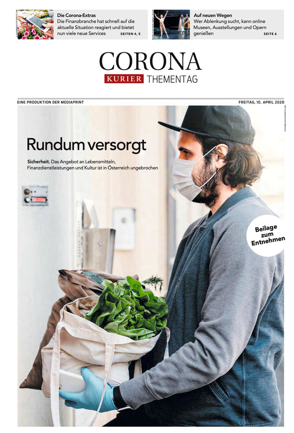 KURIER am 10. April 2020, Sonderbeilage