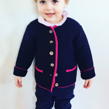 "Kinderstrickjacke ""Die Traditionelle"""